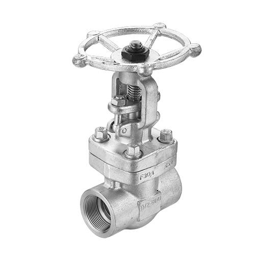 High-pressure gate valve