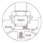 Anti-static device diagram