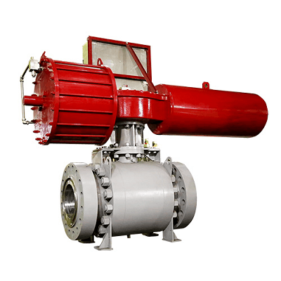 three-piece trunnion mounted ball valve