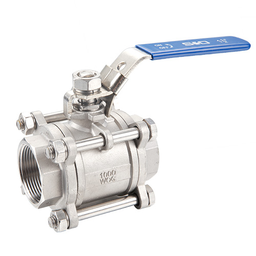 3-Piece Stainless Steel Ball Valve