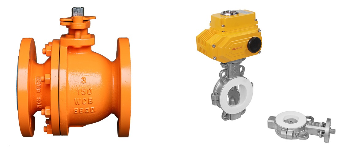 Ball Valve vs. Butterfly Valve