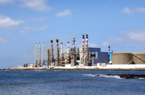 Desalination Plant in Lanzarote