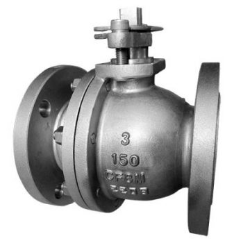 Floating ball valve 350x350