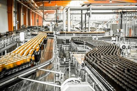 brewery interior, equipments