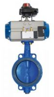Pneumatic Rotary Actuator with Butterfly Valve
