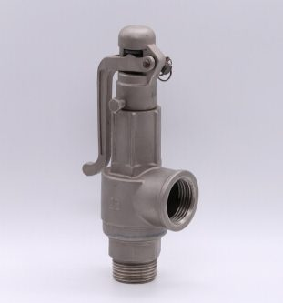 safety valve isolated on a white background