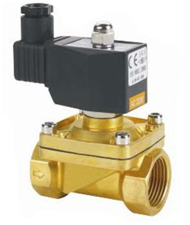 Solenoid Valve of a Control Valve