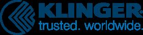 Klinger logo and tagline