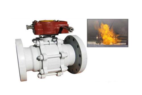fire safe ball valve